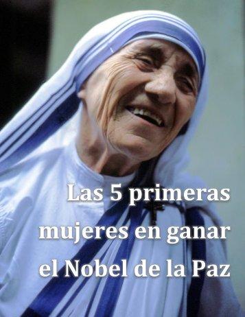 Mariana Flores Melo - Las 5 primeras mujeres en ganar el Premio Nobel de la Paz