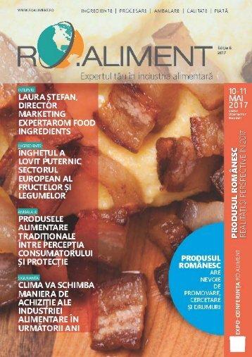 Revista RO.aliment editia 6 - expertul tau in industria alimentara