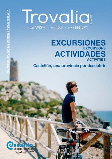 Catálogo Trovalia - Excursiones y Actividades  2017