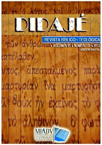Daniel y Apocalipsis, Revista Didajé
