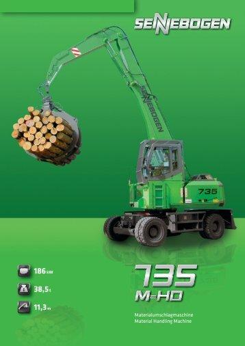 735 M-HD - SENNEBOGEN Maschinenfabrik GmbH