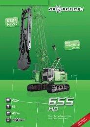 655 HD - SENNEBOGEN Maschinenfabrik GmbH