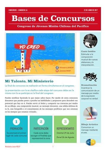 Bases Concursos Congreso JA