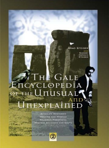 Encyclopedia of the Unusual and Unexplained Vol 2