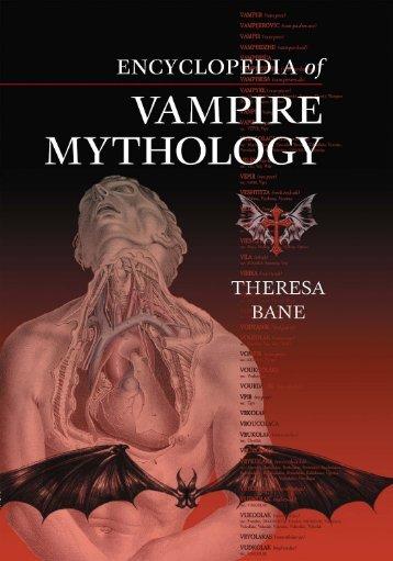 Encyclopedia-of-Vampire-Mythology