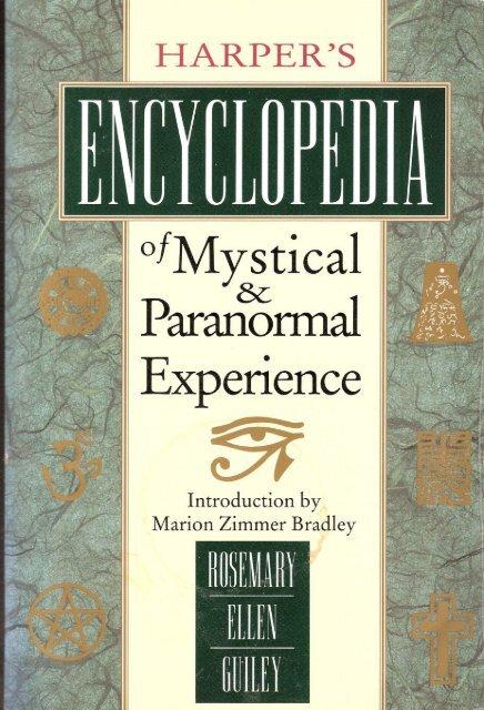 Harper-Encyclopedia-Mystical-Experience