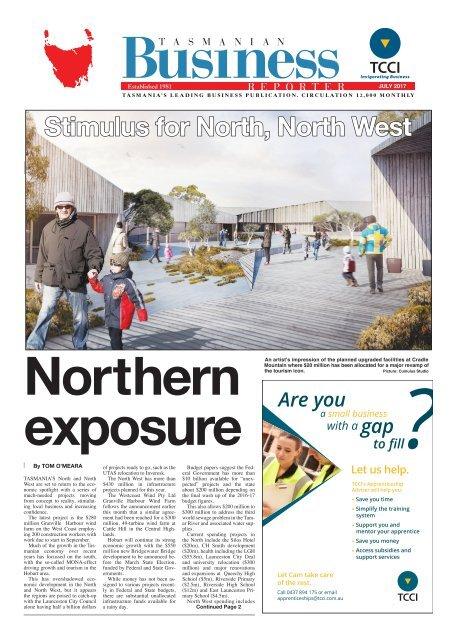 Tasmanian Business Reporter July 2017