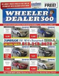 Wheeler Dealer Issue 26, 2017
