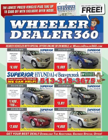 Wheeler Dealer Issue 26, 2017