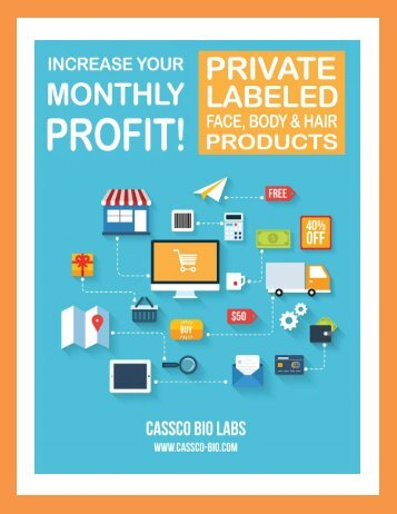 Why Spa Owners Should Private Label Their Own Skin Care Products