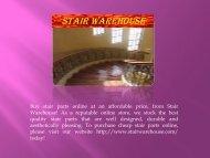 Stair Parts Online