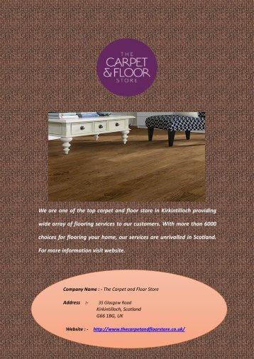 Top Carpet and Floor Store in Kirkintilloch
