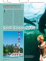 Spaß-Saison 2008 - OmnibusRevue