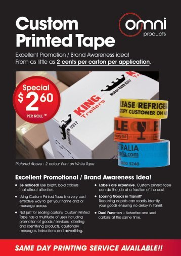 AAA Custom Printed Tape Final
