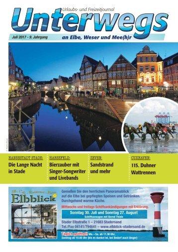 Juli_2017_Unterwegs an Elbe, Weser und Mee(h)r