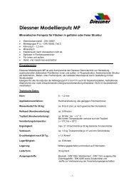 Diessner Modellierputz MP