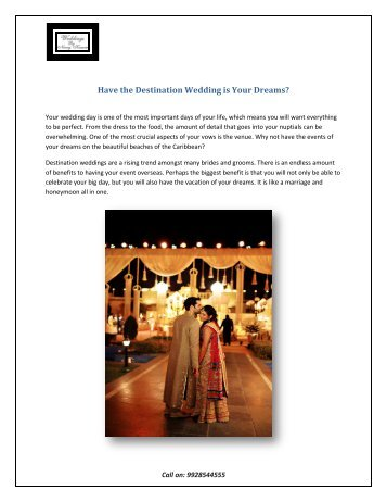 Have the Destination Wedding in Udaipur is Your Dreams
