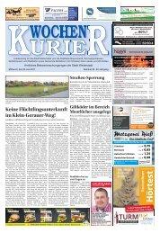 Wochen-Kurier 26/2017 - Lokalzeitung für Weiterstadt und Büttelborn