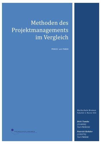 Methoden des Projektmanagements im Vergleich - lippo-design.de
