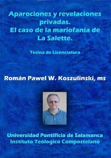 Aparociones y revelaciones  privadas Libro P Roman Espanhol