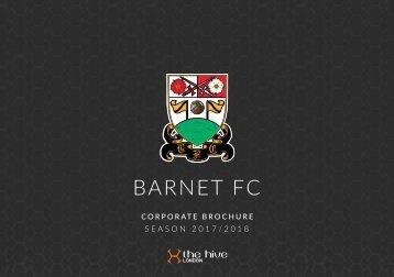 Barnet FC Corporate Brochure 20172018 v14