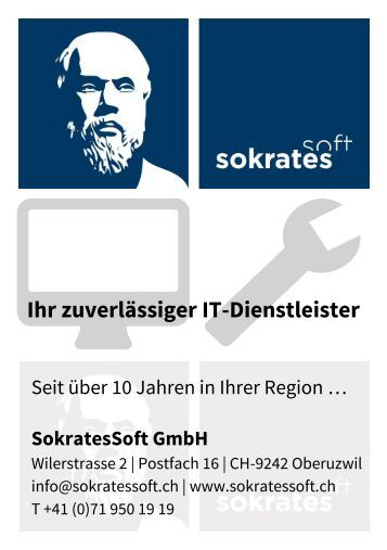 SokratesSoft GmbH | IT Support & Pc Reparatur