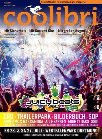 Juli 2017 - coolibri Düsseldorf und Wuppertal
