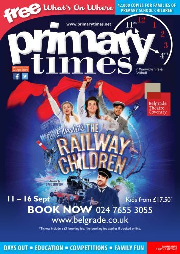 Primary Times Warwickshire Summer 2017