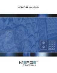 eFilm User Guide - Merge Healthcare