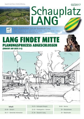 Schauplatz Lang 2017/02