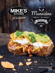 Mikes Kitchen Restaurant   Menu