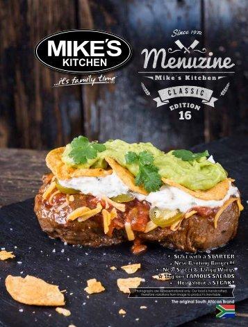 Mikes Kitchen Restaurant | Menu