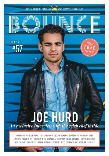 Bounce Magazine July 2017