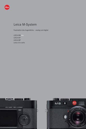 Leica M-System - ins licht gerückt