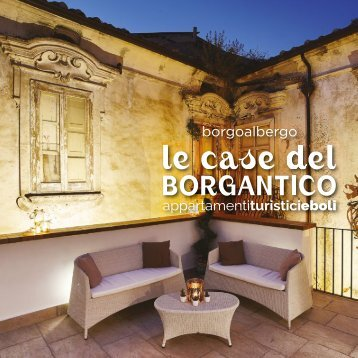 Le Case del Borgantico - CATALOGO