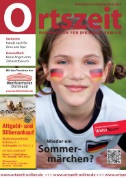 Sommer- märchen? - Ortszeit Online +++ Das Magazin für die ganze ...
