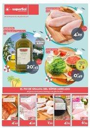 Folleto Supersol Supermercados del 28 de Junio al 4 de Julio 2017