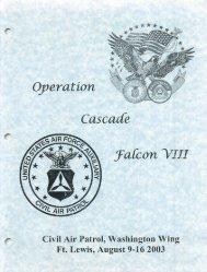 2003 Cascade Falcon Encampment VIII Annual