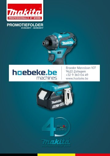 folder makita lente 2017 hoebeke