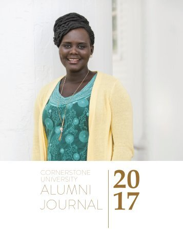 Cornerstone University Alumni Journal 2017