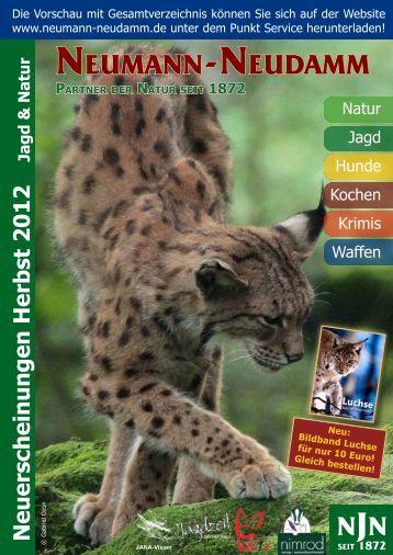 Neuerscheinungen Herbst 2012 - JANA Jagd + Natur ...