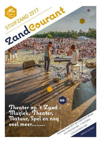 Zandcourant | Theater op 't Zand