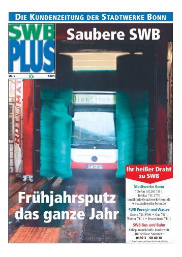 SWB plus - Bonn | Presseblog