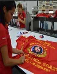 Atahualpa Fernandez-Trabajadores del Complejo Industrial Tiuna crean el Uniforme Patriota (1)
