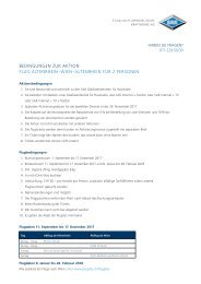Teilnahmebedingungen Sommeraktion SAK Internet, TV und Telefon