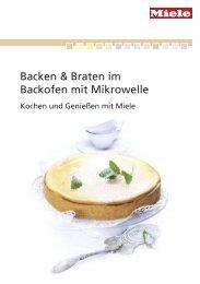 Miele Rezeptbuch - Backen mit Mikrowelle