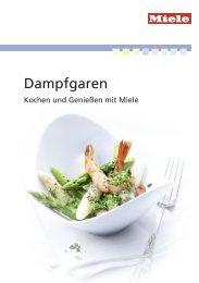 Miele Rezeptbuch - Dampfgaren