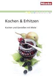 Miele Rezeptbuch - Kochen, Erhitzen