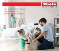 Miele Lexikon - Waschmaschine und Trockner