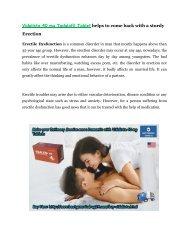 Buy Vidalista 40 mg Tablets (Generic Tadalafil) Online at BestGenericDrug24